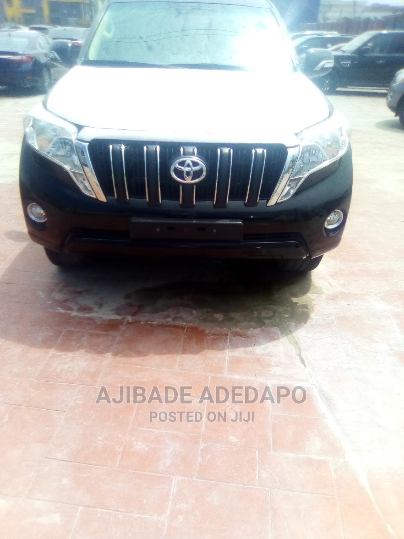 Toyota Land Cruiser Prado 2018 Black