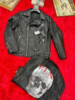 High Quality PHILIP PLEIN Leather Jackets Available for Sale   Clothing for sale in Abuja (FCT) State, Wuse 2