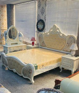Royal Bed With Two Side Drawers and Dressing Mirror   Furniture for sale in Lagos State, Ojo