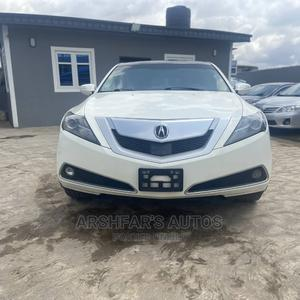 Acura ZDX 2011 Base AWD White | Cars for sale in Lagos State, Ifako-Ijaiye