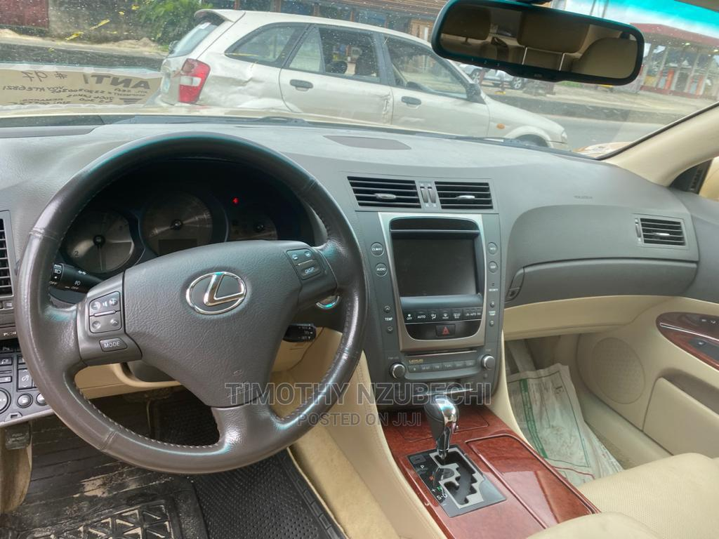Lexus GS 2006 300 AWD Gold | Cars for sale in Port-Harcourt, Rivers State, Nigeria