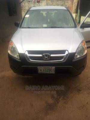 Honda CR-V 2004 EX 4WD Automatic Silver   Cars for sale in Lagos State, Abule Egba