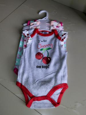 5 Pcs Unique Bodysuits for Ur Kids | Children's Clothing for sale in Lagos State, Amuwo-Odofin