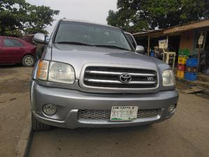 Toyota Sequoia 2004 Gray | Cars for sale in Lagos State, Alimosho