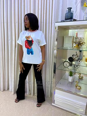 Turkish White Top and Black Jeans | Clothing for sale in Lagos State, Amuwo-Odofin