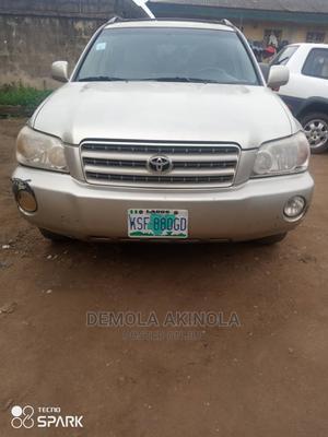 Toyota Highlander 2003 Gold | Cars for sale in Lagos State, Ikorodu