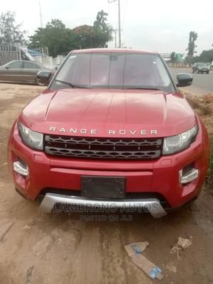 Land Rover Range Rover Evoque 2013 Red | Cars for sale in Lagos State, Ogba