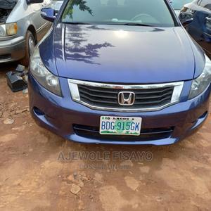 Honda Accord 2011 Sedan EX Automatic Blue   Cars for sale in Lagos State, Alimosho