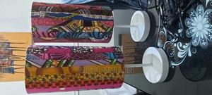 2 Handmade Ankara Styled Lamps | Home Accessories for sale in Abuja (FCT) State, Gwarinpa