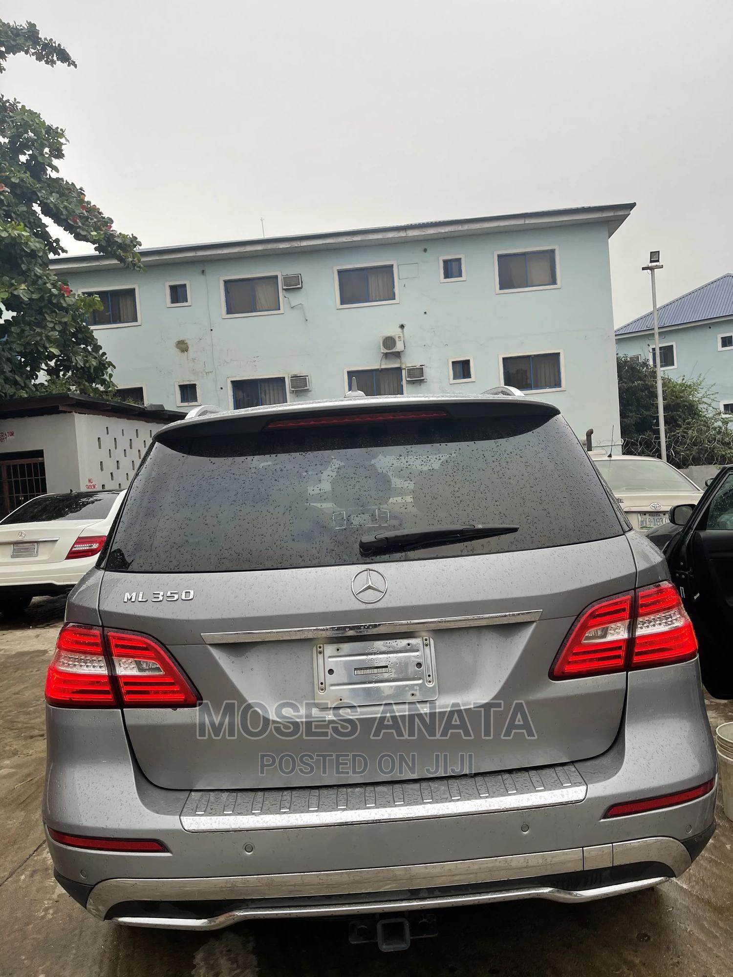 Mercedes-Benz M Class 2015 Gray