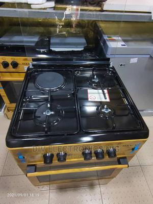 Maxi Gas Cooker 60×60. 3gas 1 Electric | Kitchen Appliances for sale in Lagos State, Mushin