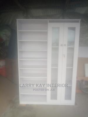 Shoe Rack Bag Shelf Show Glass | Furniture for sale in Lagos State, Lekki