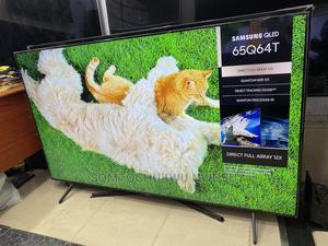 "65"" Samsung Qled QHDR Q64T Smart Tv (Apple Airplay, Alexa) | TV & DVD Equipment for sale in Lagos State, Gbagada"