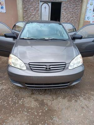 Toyota Corolla 2003 Gray   Cars for sale in Lagos State, Surulere
