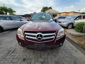 Mercedes-Benz GLK-Class 2010 350 Burgandy   Cars for sale in Lagos State, Apapa