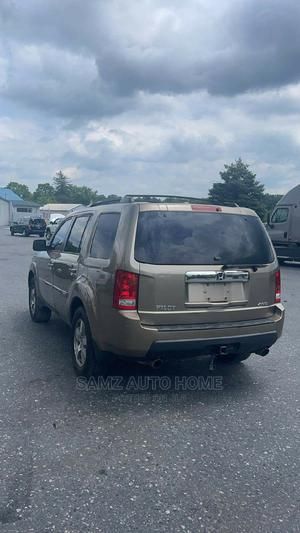 Honda Pilot 2009 EX 4dr SUV (3.5L 6cyl 5A) Gold | Cars for sale in Lagos State, Ikotun/Igando