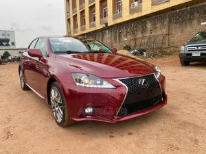 Lexus IS 2009 350 Red | Cars for sale in Lagos State, Ikeja