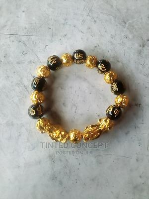 Fortified Double Dragon Black Obsidian Wealth Bracelet | Tools & Accessories for sale in Delta State, Warri