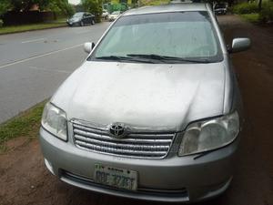 Toyota Corolla 2003 Sedan Automatic Silver | Cars for sale in Abuja (FCT) State, Asokoro