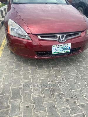 Honda Accord 2004 Red | Cars for sale in Plateau State, Jos