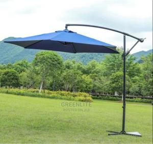 Outdoor Umbrella Parasol Shade With Base TODAY'S PRICE #72k | Camping Gear for sale in Lagos State, Surulere