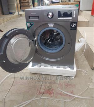 Brand New Hisense Inverter Washing Machine With Dryer (10kg) | Home Appliances for sale in Lagos State, Victoria Island