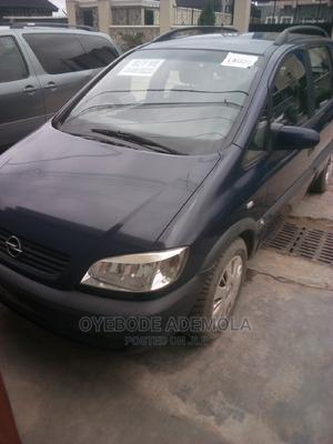 Opel Zafira 2004 1.6 Blue | Cars for sale in Lagos State, Gbagada