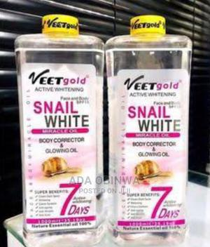 Veet Gold Active Whitening Snail White Serum   Skin Care for sale in Lagos State, Ojo