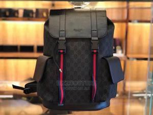 Hivh Quality GUCCI Black Backpack Available for Sale | Bags for sale in Abuja (FCT) State, Wuse 2