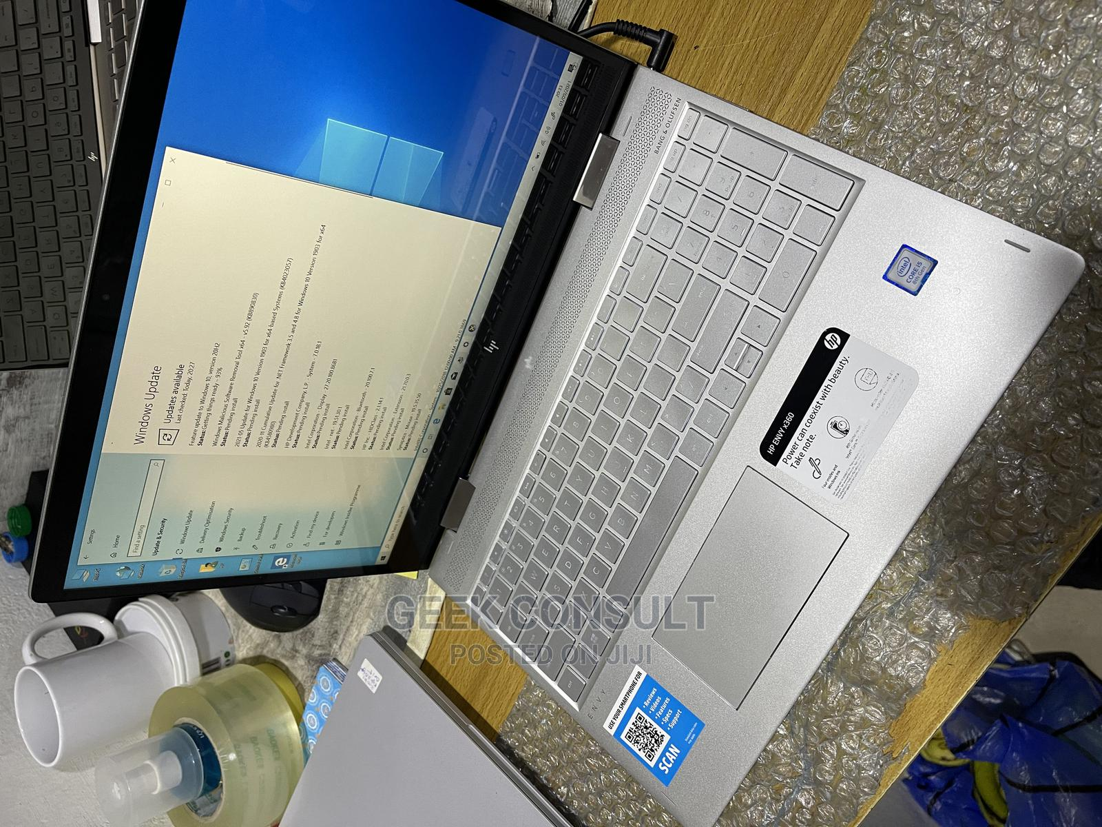 Laptop HP Envy X360 15t 8GB Intel Core I5 SSD 256GB   Laptops & Computers for sale in Ikeja, Lagos State, Nigeria