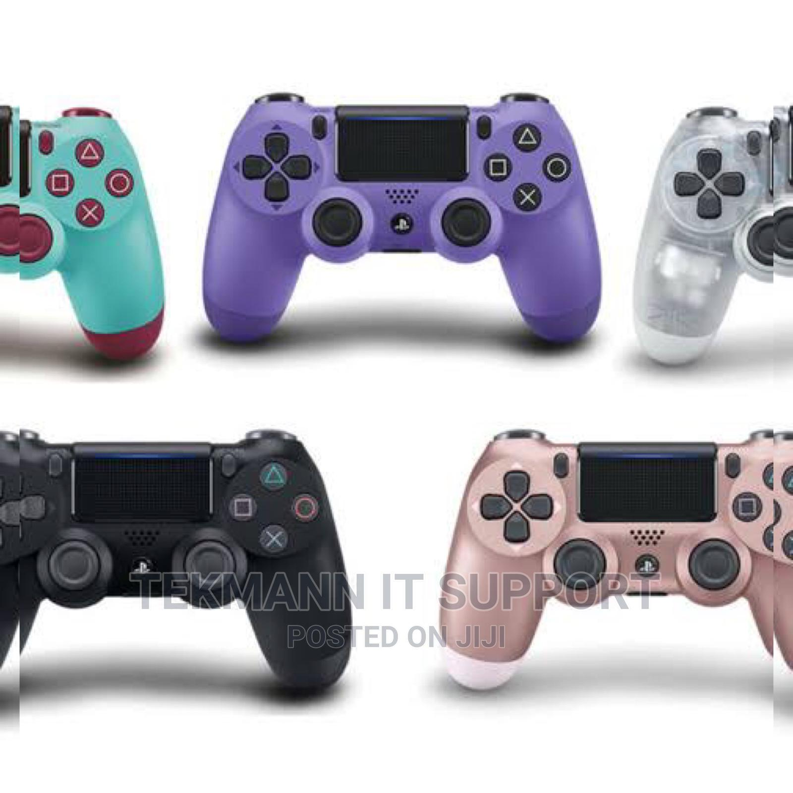 New Dualshock 4 Wireless Controller for Playstation 4   Video Game Consoles for sale in Ibadan, Oyo State, Nigeria