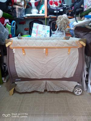 Tokunbo Uk Used Chicco Baby Bed With Tyres | Children's Gear & Safety for sale in Lagos State, Ikeja