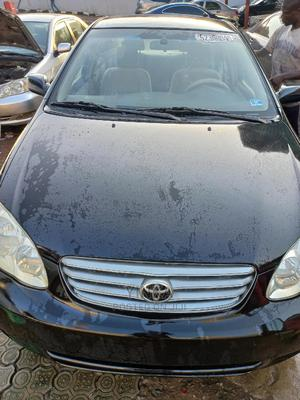 Toyota Corolla 2003 Sedan Automatic Black | Cars for sale in Lagos State, Ikeja