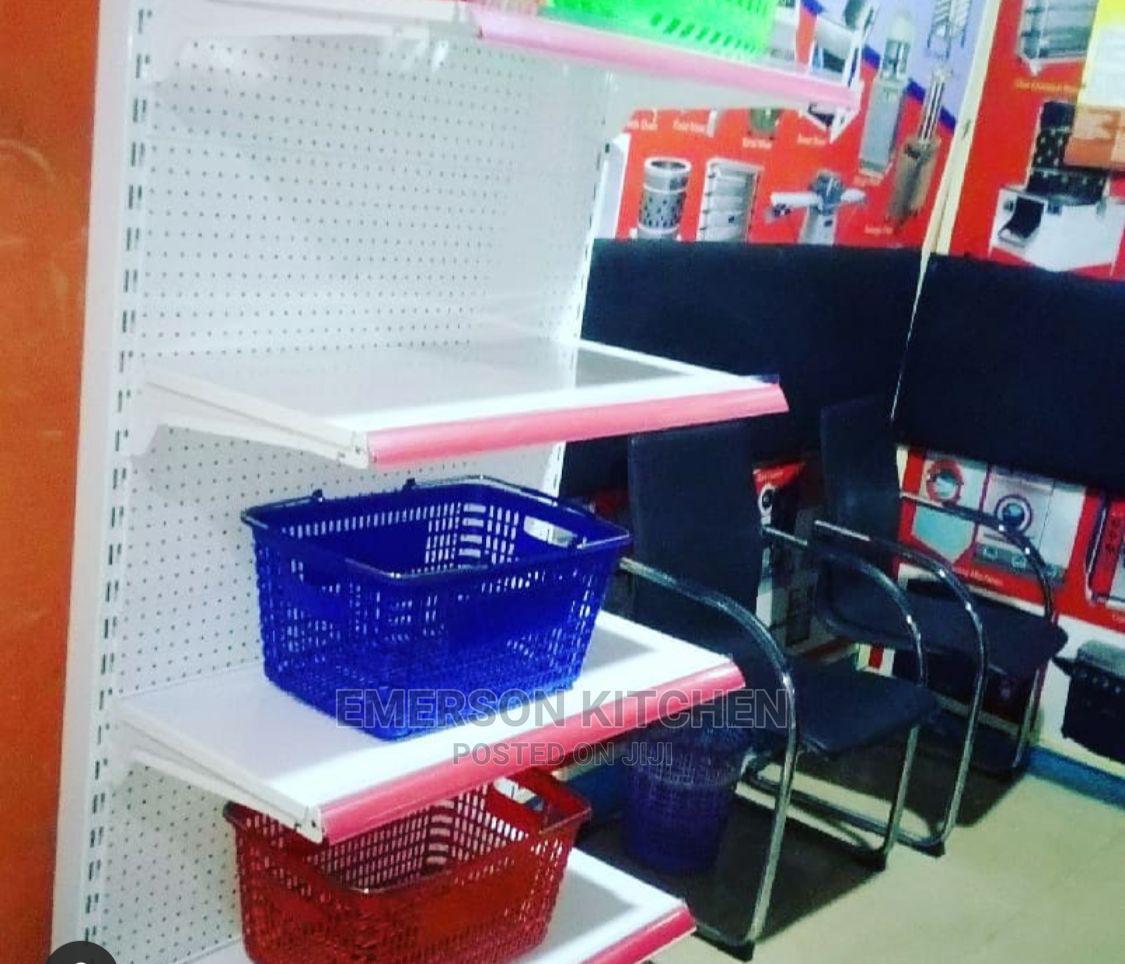 Archive: Single Side Supermarket Shelf