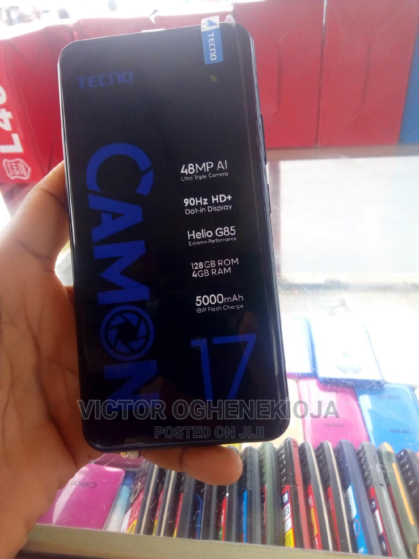 Tecno Camon 17 128 GB Black