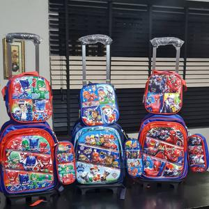 PJ Mask, Spiderman Paw Patrol Tolley Bag 3 in 1 Set   Babies & Kids Accessories for sale in Lagos State, Ikeja