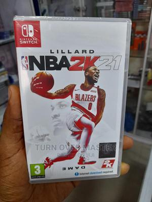 Nba2k21 for Nintendo Switch | Video Games for sale in Lagos State, Ikeja