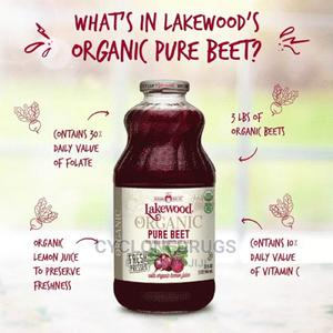 Lakewood Organic PURE Beet, 32 Oz, 6 X Bottle Fresh Pressed   Meals & Drinks for sale in Lagos State, Amuwo-Odofin