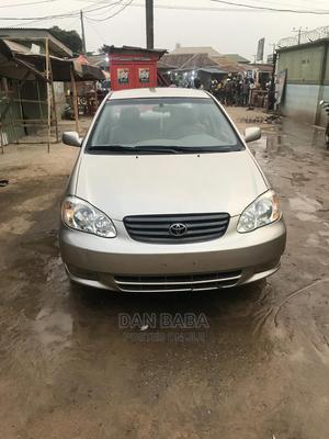 Toyota Corolla 2004 Sedan Gold | Cars for sale in Lagos State, Ojodu