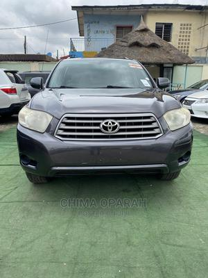 Toyota Highlander 2008 Sport Gray | Cars for sale in Lagos State, Kosofe