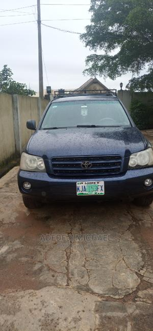 Toyota Highlander 2001 Blue   Cars for sale in Lagos State, Ikorodu