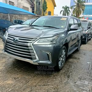 Lexus LX 2017 570 AWD Gray | Cars for sale in Lagos State, Ajah