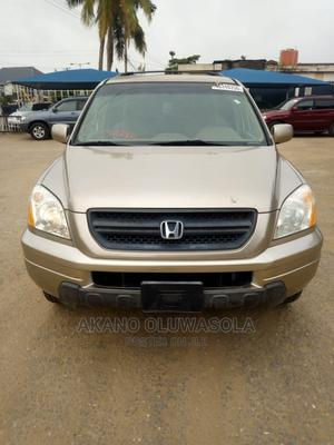 Honda Pilot 2005 LX 4x4 (3.5L 6cyl 5A) Gold | Cars for sale in Lagos State, Alimosho