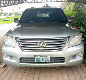 Lexus LX 2010 570 Silver | Cars for sale in Abuja (FCT) State, Lokogoma