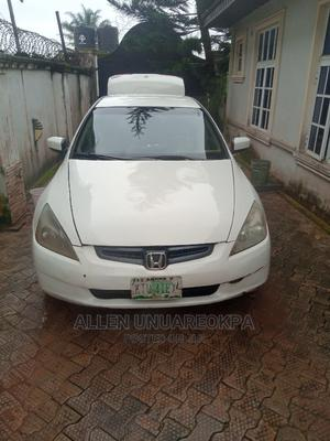Honda Accord 2004 2.4 Type S Automatic White | Cars for sale in Edo State, Benin City