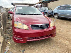 Toyota Corolla 2007 S Red | Cars for sale in Lagos State, Ogba