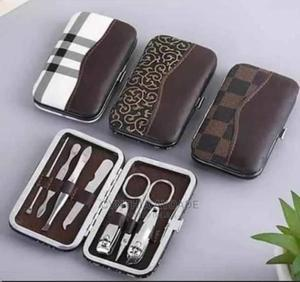 Manicure/Pedicure Set With Leather Pouch | Tools & Accessories for sale in Ogun State, Ado-Odo/Ota