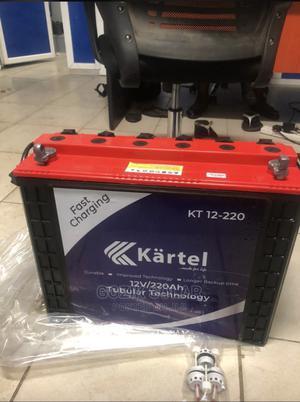 Kartel Tubular Batteries 220A | Solar Energy for sale in Lagos State, Ojo