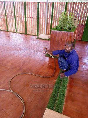 Laminated Wooden Floor Polishing | Cleaning Services for sale in Lagos State, Ikoyi