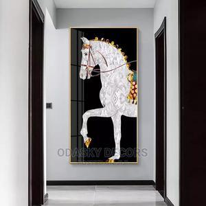 Modern Horse Wall Art Canvas Print   Home Accessories for sale in Ogun State, Abeokuta North